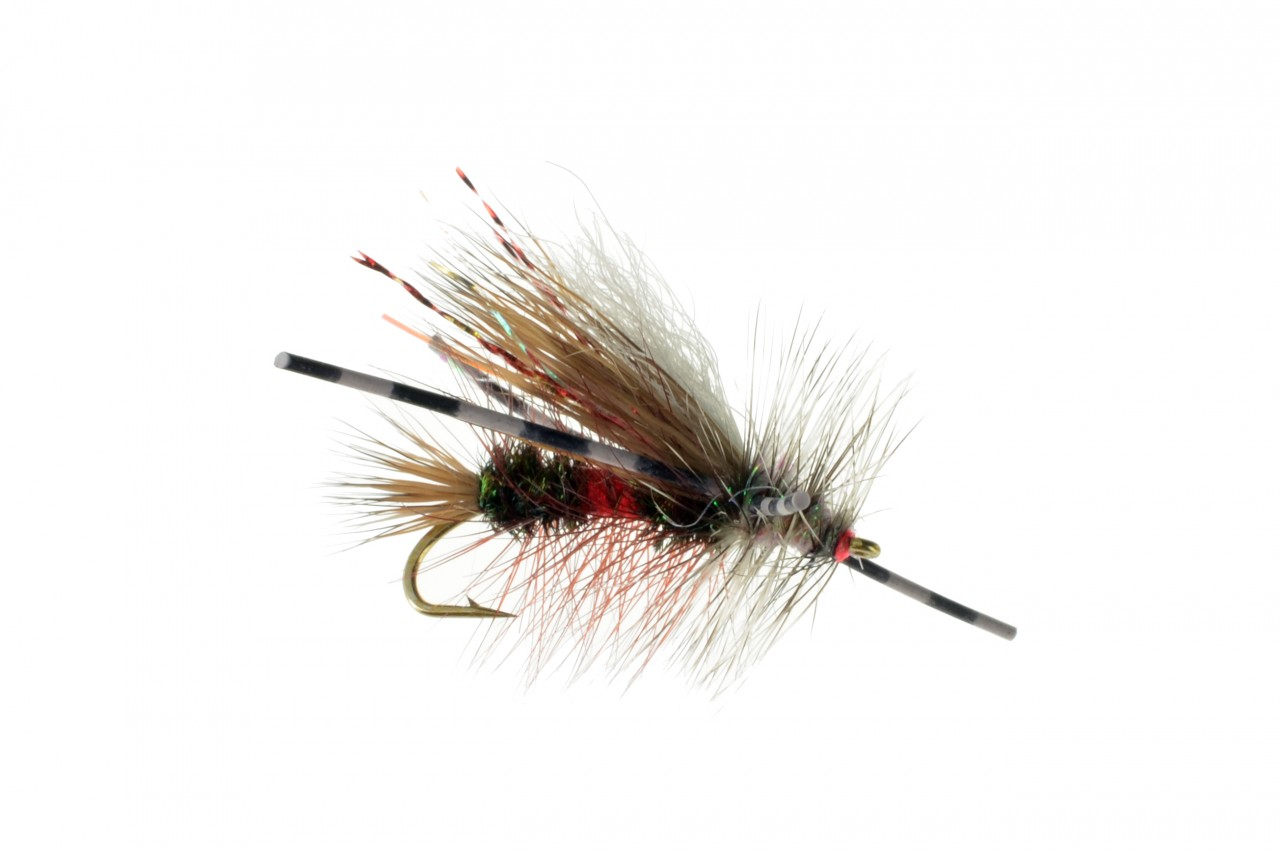 Crystal stimulator royal rubber leg trout flies for Online fly fishing store